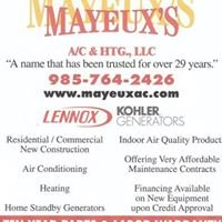 Mayeux's A/C & HTG., LLC