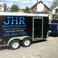 JHR Renovations and Maintenance