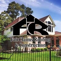 Fairclaims Roofing & Construction - Dallas