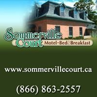Sommerville Court Motel B&B: a Historic 1880s Home, Lucknow Ont Ca