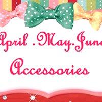 April May June Accessories