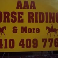 AAA Horseriding and More
