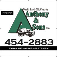 A. Anthony & Sons Concrete