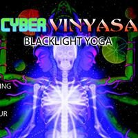 Cyber Vinyasa- Black Light Yoga