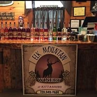 The Rustique Log Cabin & Elk Mountain Winery At Kittanning