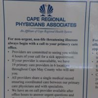 Cape Regional Physicians