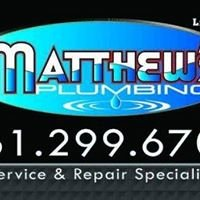 Matthew's Plumbing