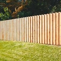 Good Wood Fence and Deck