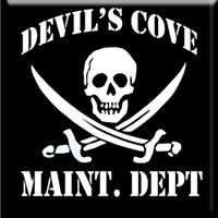 Devil's Cove Maint. Dept.