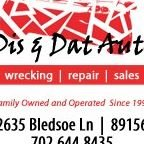Dis & Dat Auto Wrecking & U-Pull Auto Parts