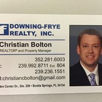 Christian Bolton Realtor and Property Manager