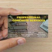 Professional Concrete Service