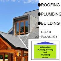 Alexander Building, Roofing and Plumbing Specialists.