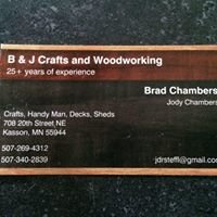 B & J Crafts and Woodworking