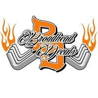 Broadhead Decals