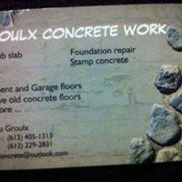 Groulx Concrete Work