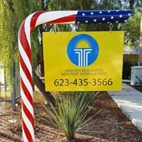 Arizona Real Estate Sign Post Installations