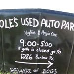 cole's used auto parts