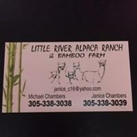 Little River Alpaca Ranch & Bamboo Farm Owners Janice & Mike Chambers
