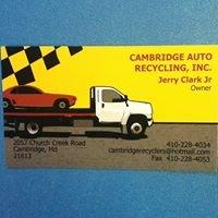 Cambridge Auto Recycling & Sales