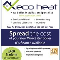 Eco Heat plumbing and heating specialists.