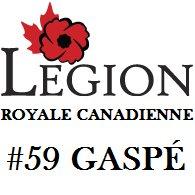 Légion Royale Canadienne No. 59 Gaspé / Royal Canadian Legion No. 59 Gaspé