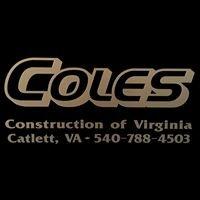 Coles Construction of Virginia