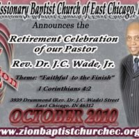 Zion Missionary Baptist Church of East Chicago, IN, Inc.
