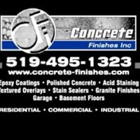 Concrete Finishes London