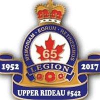 Royal Canadian Legion Upper Rideau Branch 542