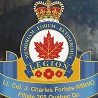 La Légion Royale Canadienne - Filiale 265 - Québec