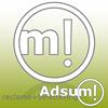 Adsum!reclame+belettering
