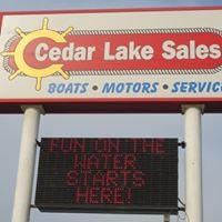 Cedar Lake Sales and Service