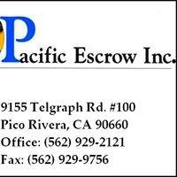 Pacific Escrow Inc.