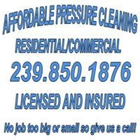 Affordable Pressure Cleaning