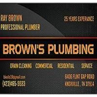 Brown's Plumbing and Drain Cleaning