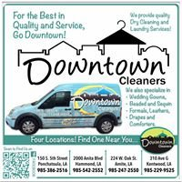 Downtown Cleaners Ponchatoula