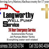 Langworthy well pump service