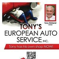 Tony's European Auto Service
