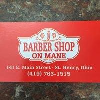 Barber Shop On Mane