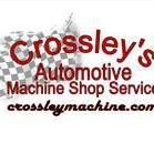 Crossley's Automotive Machine Shop Service