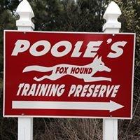 Poole's Foxhound Training Preserve