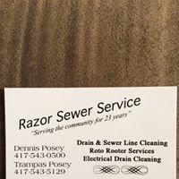 Razor's Sewer Service