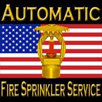 Automatic Fire Sprinkler Service