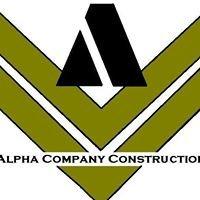 Alpha Company Construction LLC