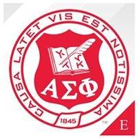 Alpha Sigma Phi Fraternity, Epsilon Chapter