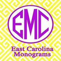 East Carolina Monograms