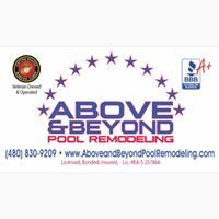 Above & Beyond Pool Remodeling