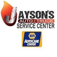 Jayson's Auto/Truck Service Center