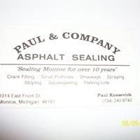 Paul & Company Asphalt Sealing
